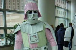 Darth Vader Hello Kitty Mashup